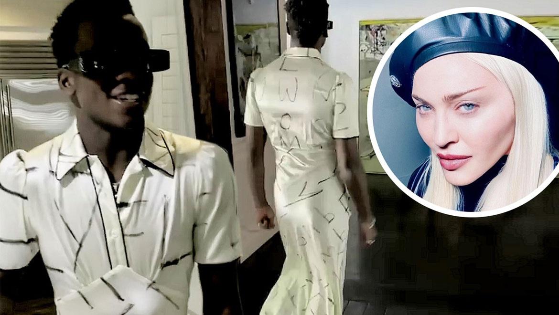 Ο-15χρονος-γιος-της-Madonna-ποζάρει-με-φόρεμα-και-στέλνει