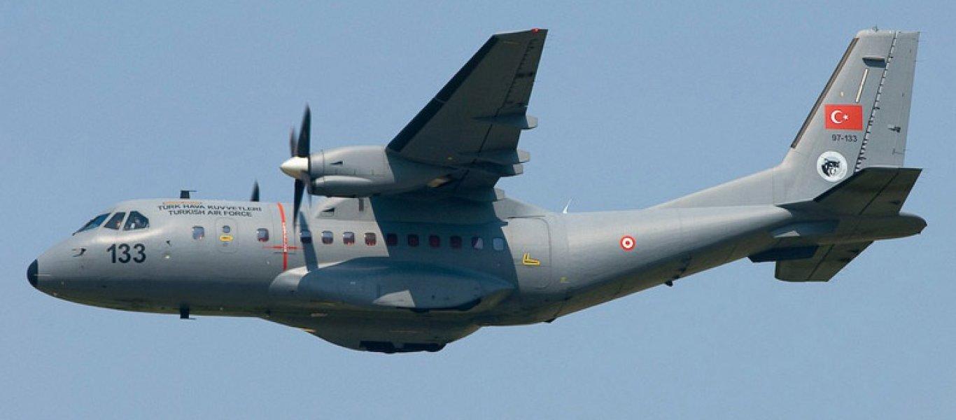 τουρκικά κατασκοπευτικά αεροσκάφη