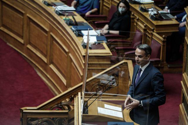 """Συζήτηση για το νομοσχέδιο του Υπουργείου Παιδείας, """" Αναβάθμιση του σχολείου, ενδυνάμωση των εκπαιδευτικών και άλλες διατάξεις """" , στην Αθήνα, 27 Ιουλίου, 2021"""