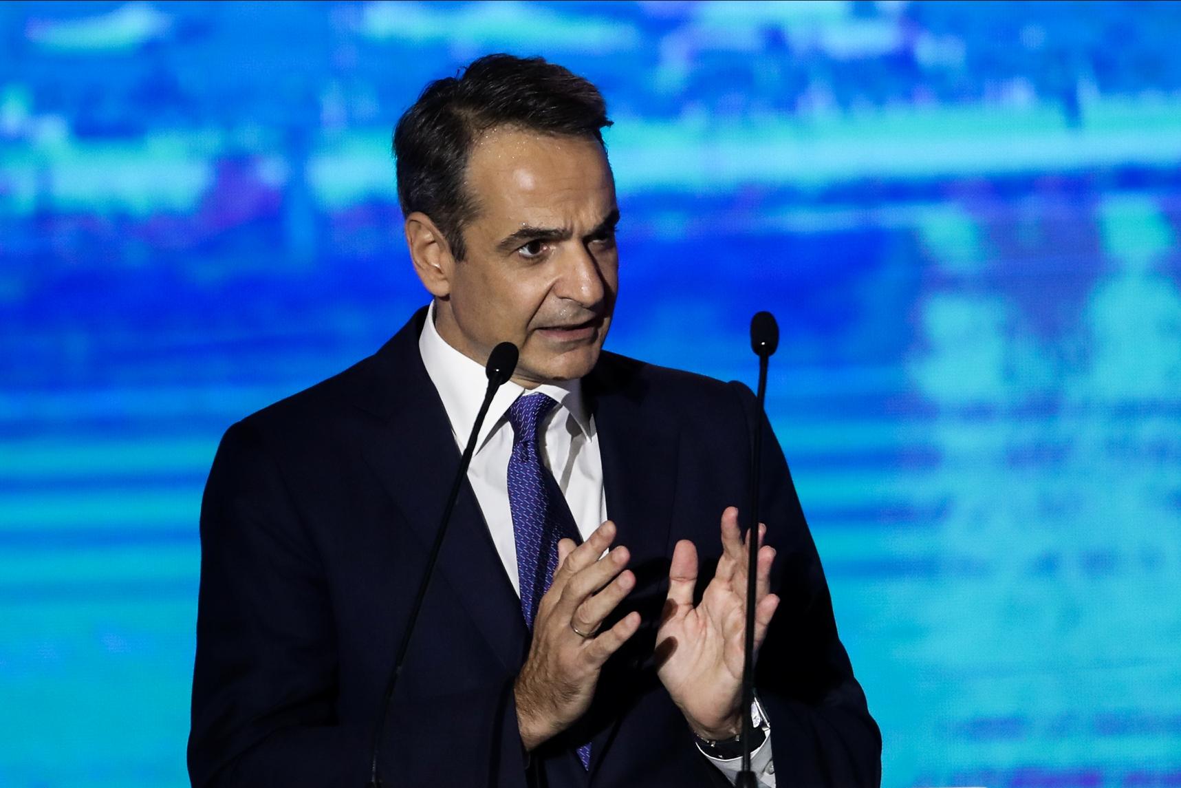 Ομιλία του Πρωθυπουργού Κυριάκου Μητσοτάκη στα εγκαίνια της 85ης Διεθνούς Έκθεσης Θεσσαλονίκης, Σάββατο 11 Σεπτεμβρίου 2021. (ΜΟΤΙΟΝΤΕΑΜ/ΒΑΣΙΛΗΣ ΒΕΡΒΕΡΙΔΗΣ)