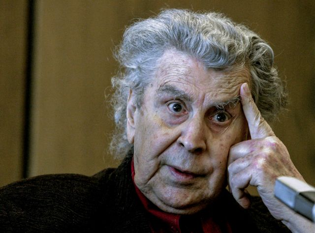 Έφυγε σήμερα από την ζωή, ο μεγάλος Ελληνας μουσικοσυνθέτης Μίκης Θεοδωράκης, φωτογραφία αρχείου , Πέμπτη 2 Σεπτεμβρίου 2021(ΦΩΤΟΓΡΑΦΙA ΑΡΧΕΙΟΥ / ΤΑΤΙΑΝΑ ΜΠΟΛΑΡΗEUROKINISSI)