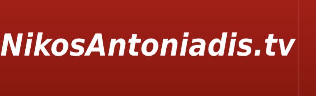 Nikos Antoniadis TV
