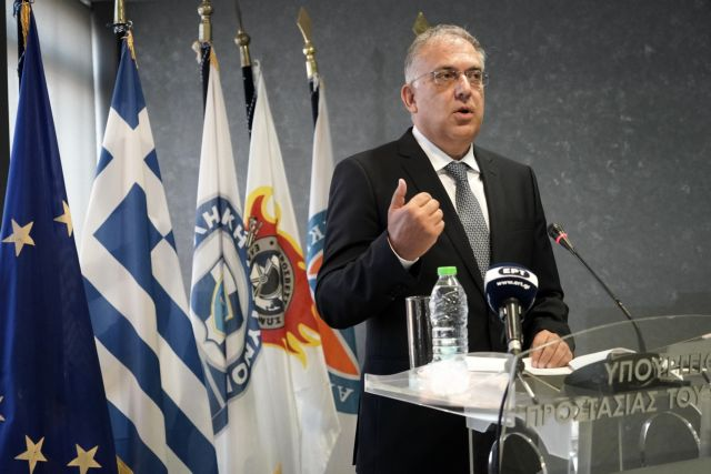 Handover ceremony at the Citizen Protection Ministry in Athens, Greece on August 31, 2021 / Τελετή Παράδοσης - Παραλαβής στο Υπουργείο Προστασίας του Πολίτη 31 Αυγούστου 2021.